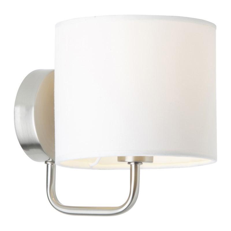 Chroom, Witte wandlamp Bahar