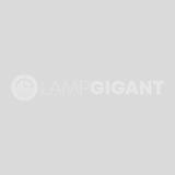 Industriële, Landelijke, Brocante plafondlamp Keona - Zwart