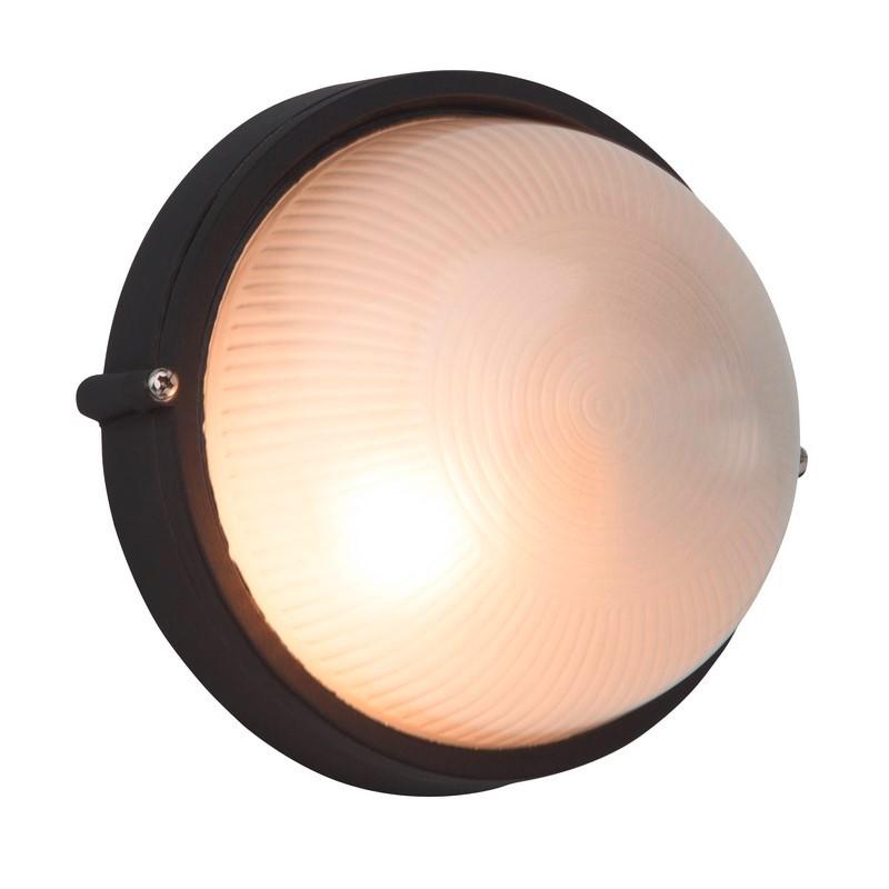 Zwarte buiten wand- & plafondlamp Tuba
