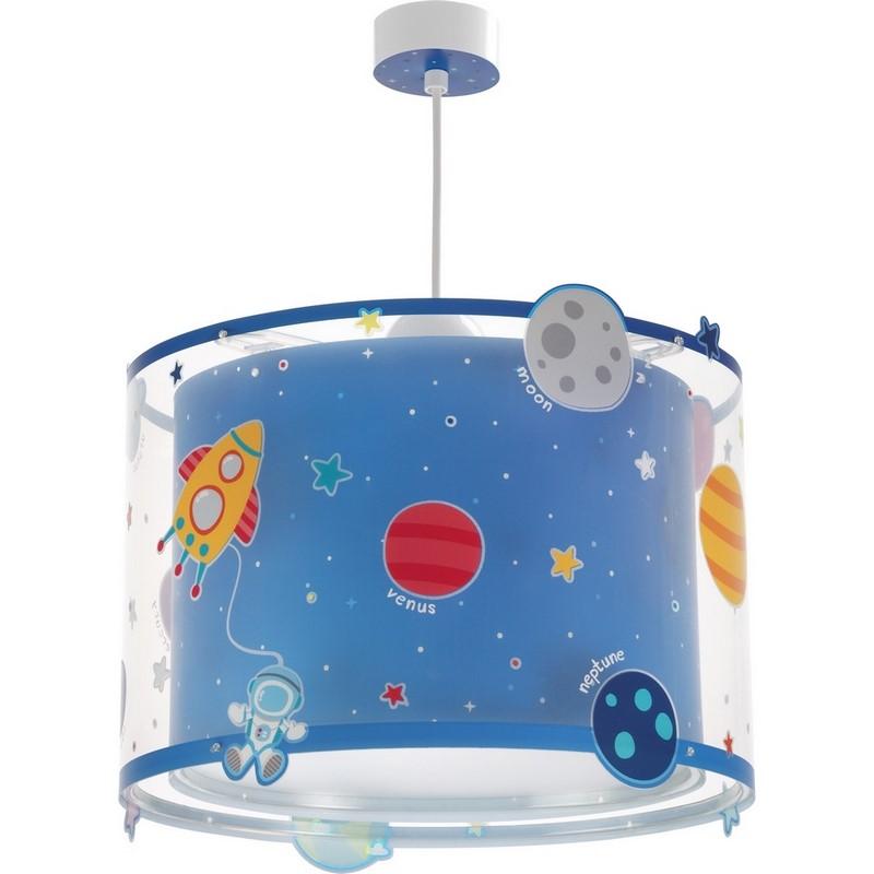 Planeet hanglamp - Blauw