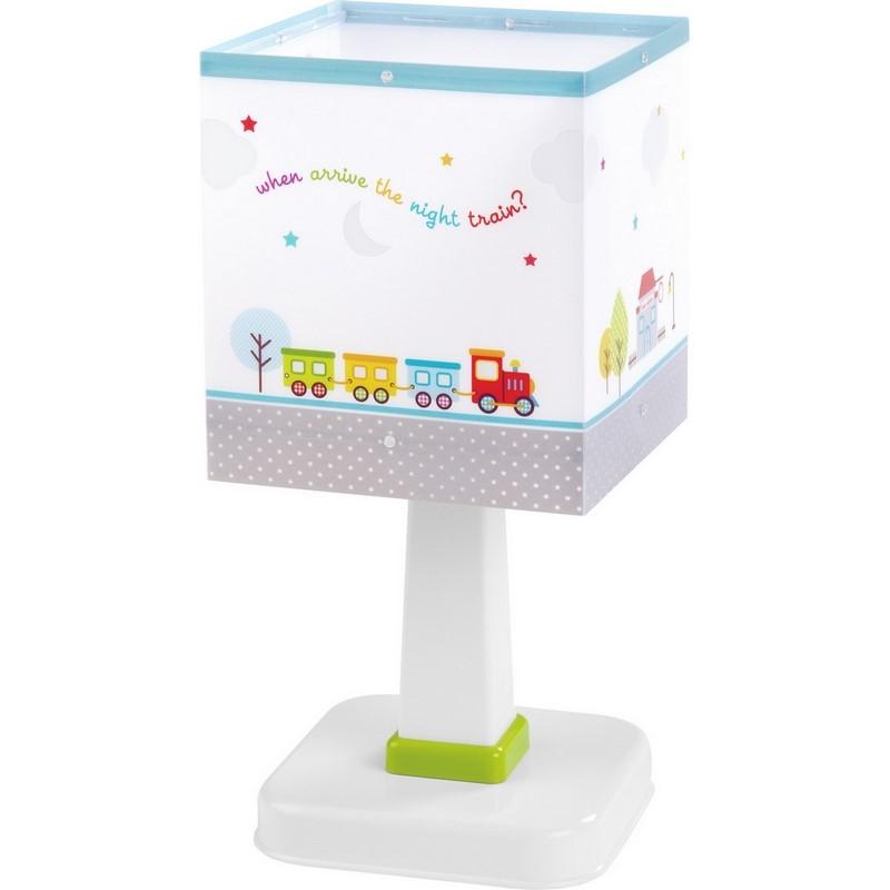 Treintje tafellamp babykamer