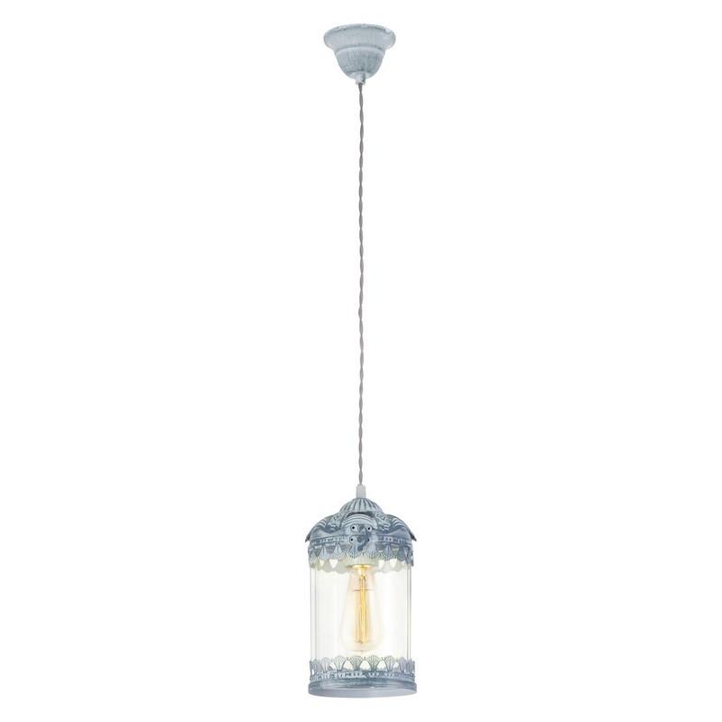 Abdelouahid hanglamp - Grijs-Blauw