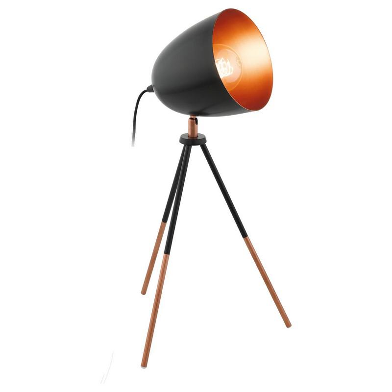 AbigaIl tafellamp - Zwart Koper