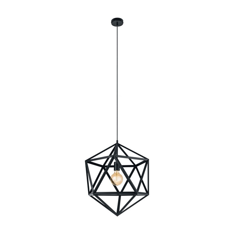 Agnita hanglamp - Zwart