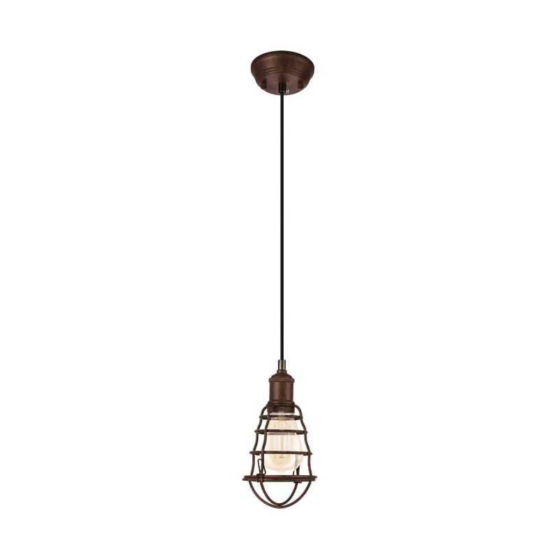 Aissa hanglamp - Antiek-Bruin