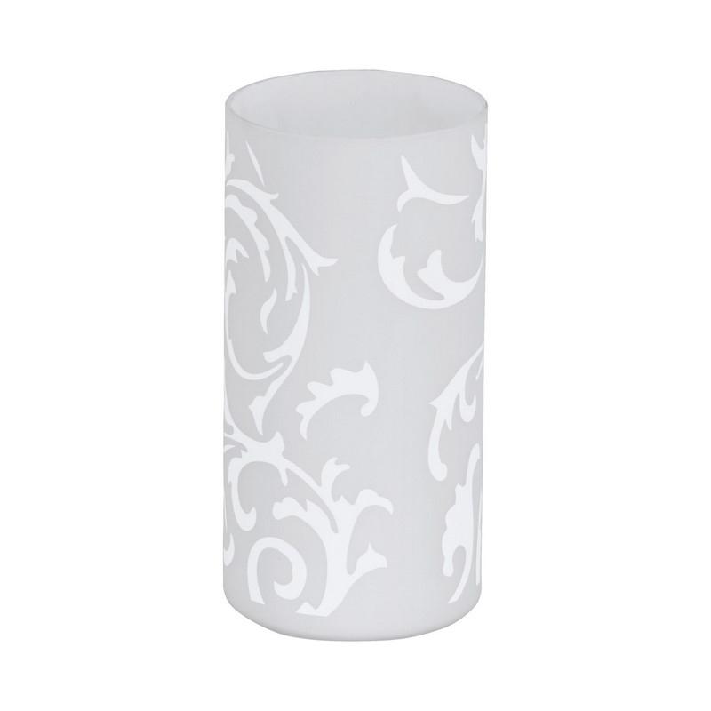 Middo tafellamp Glas met sierlijke vormen