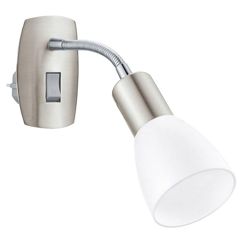 Alem wandlamp - Nikkel-Mat Chroom