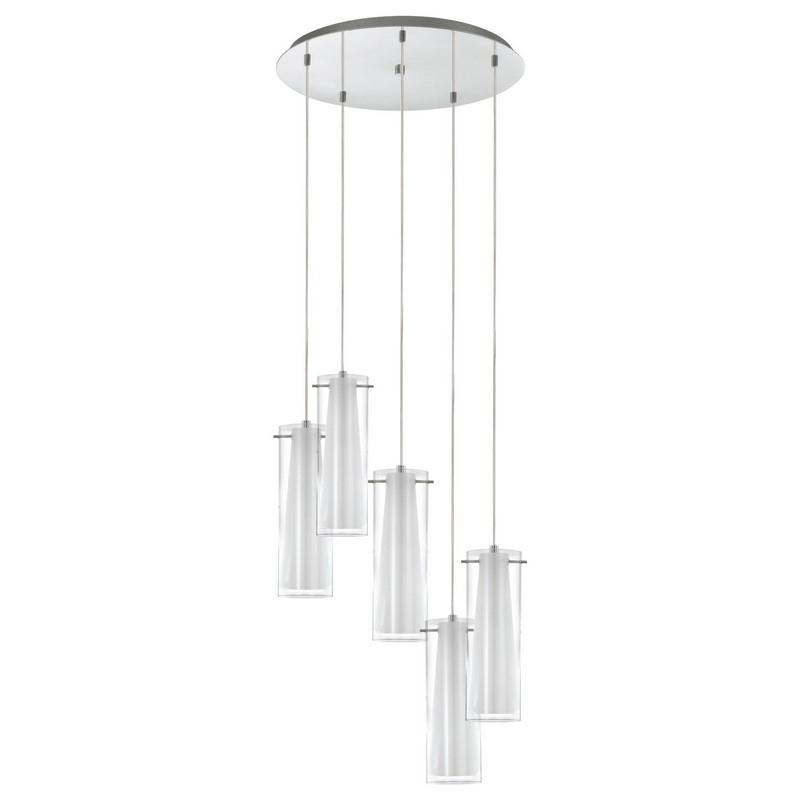 Jules stijlvolle hanglamp lampjes op verschillende hoogtes