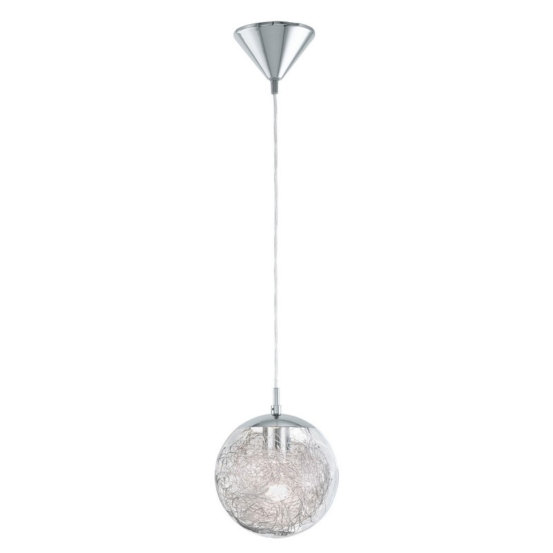 Zakria sfeervolle hanglamp bolvormige lampenkap