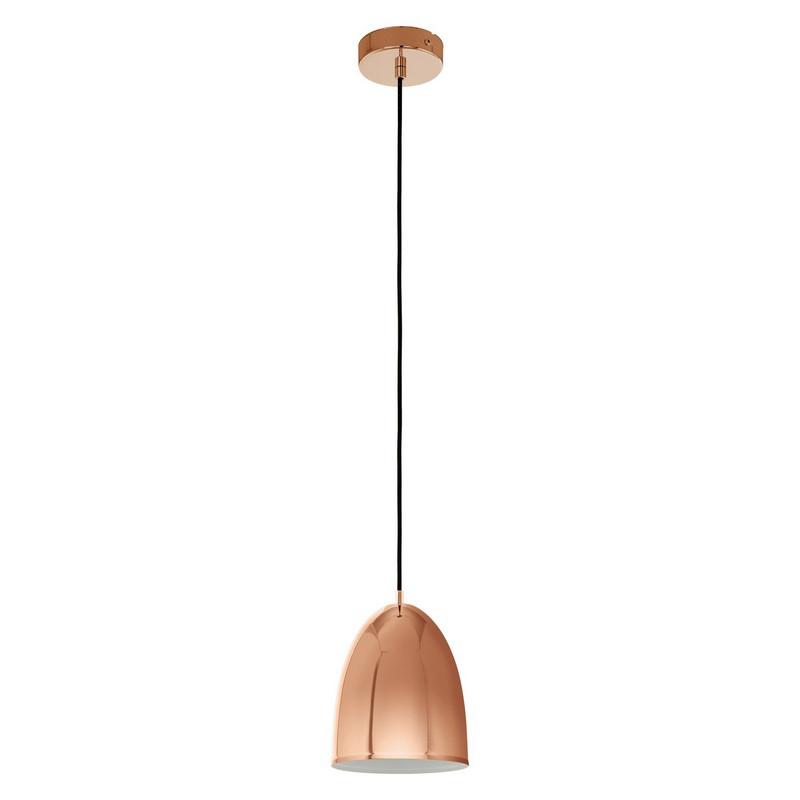 Koperen hanglamp Piglio