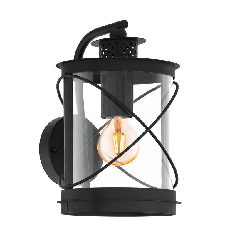 Alisia buitenlamp - Zwart