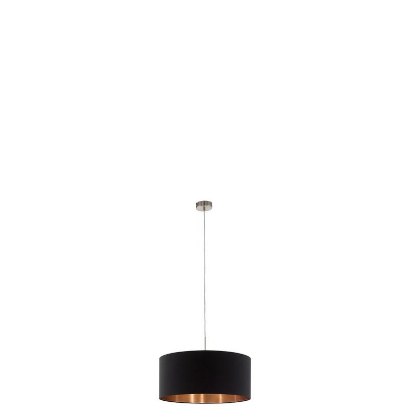 Aly hanglamp - Nikkel-Mat