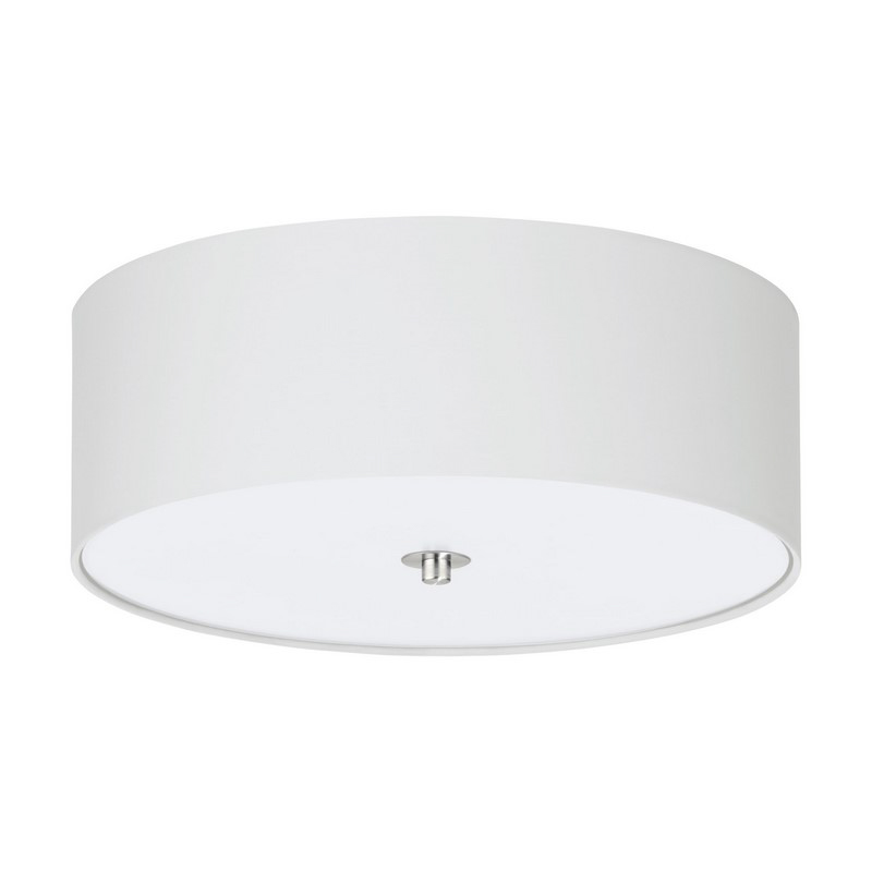 Alyshia plafondlamp - Nikkel-Mat