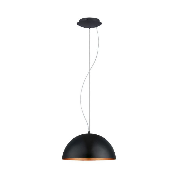 Amando hanglamp - Zwart Koper
