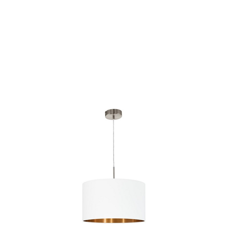 Andra hanglamp - Nikkel-Mat