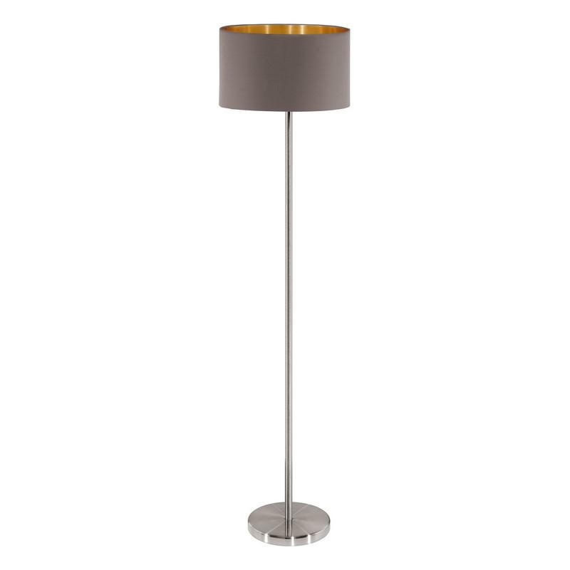 Angelique vloerlamp - Nikkel-Mat