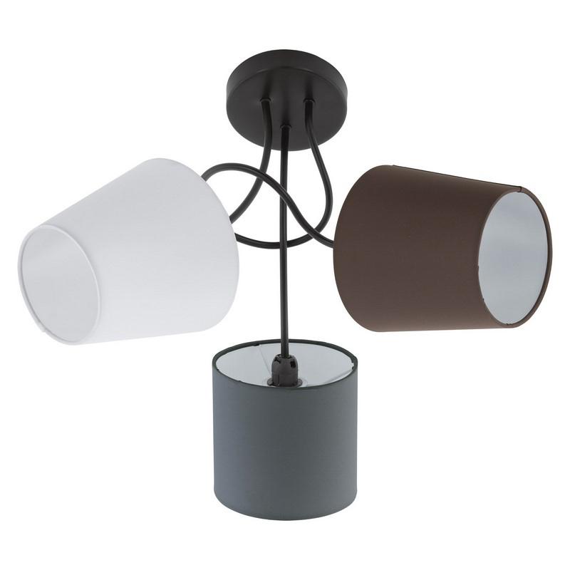 Anina plafondlamp - Zwart