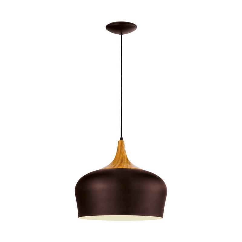 Annemay hanglamp - Bruin Creme Eik