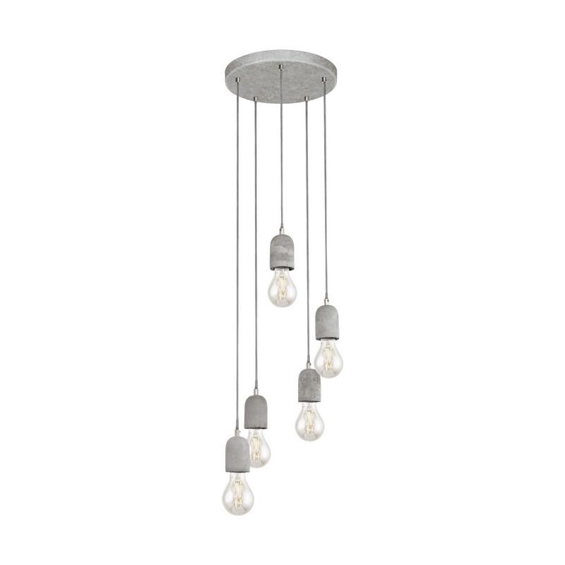 Antonia hanglamp - Grijs