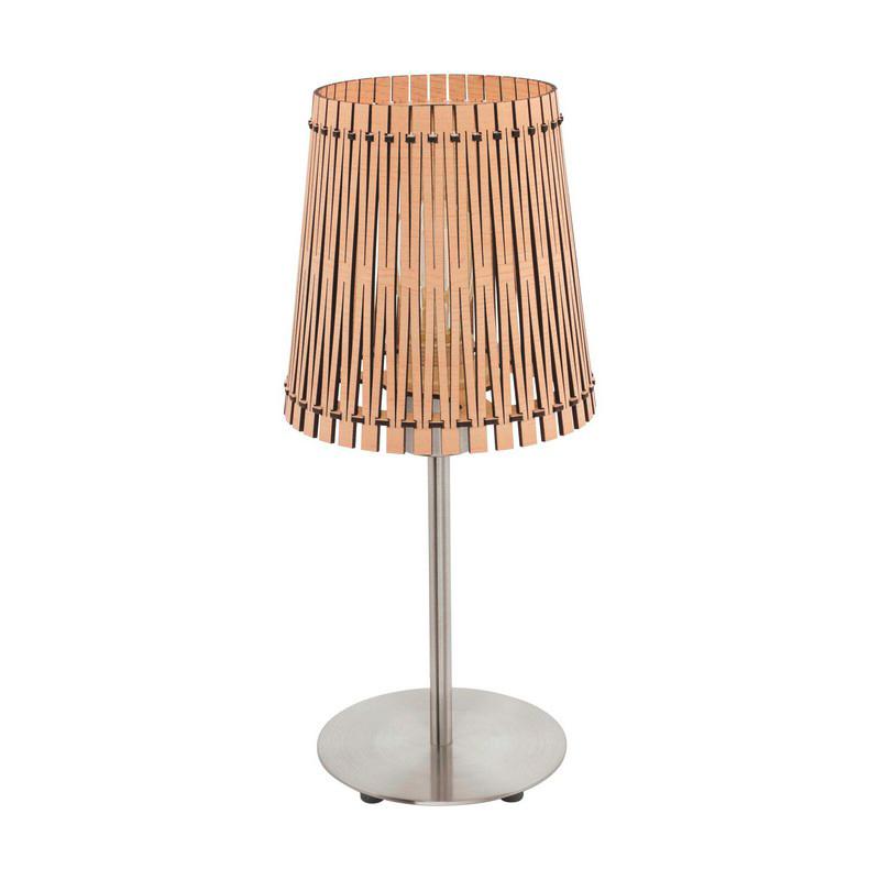 Bertha tafellamp - Nikkel-Mat