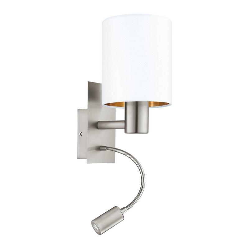 Bryce wandlamp - Nikkel-Mat