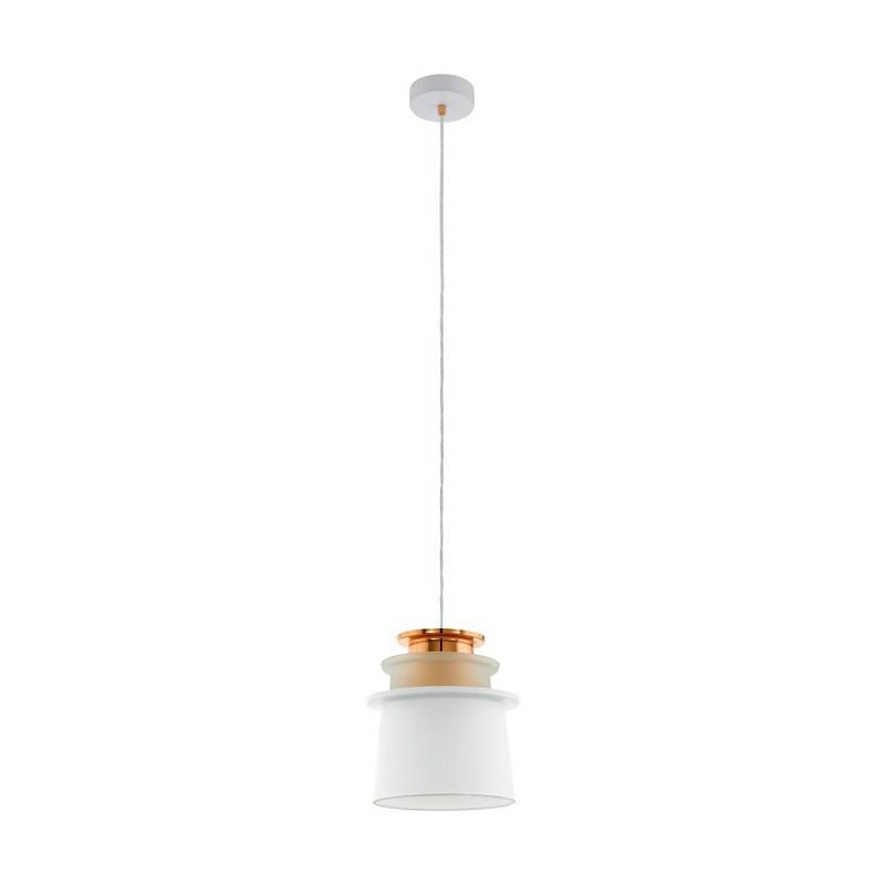 Caterina hanglamp - Wit Koper