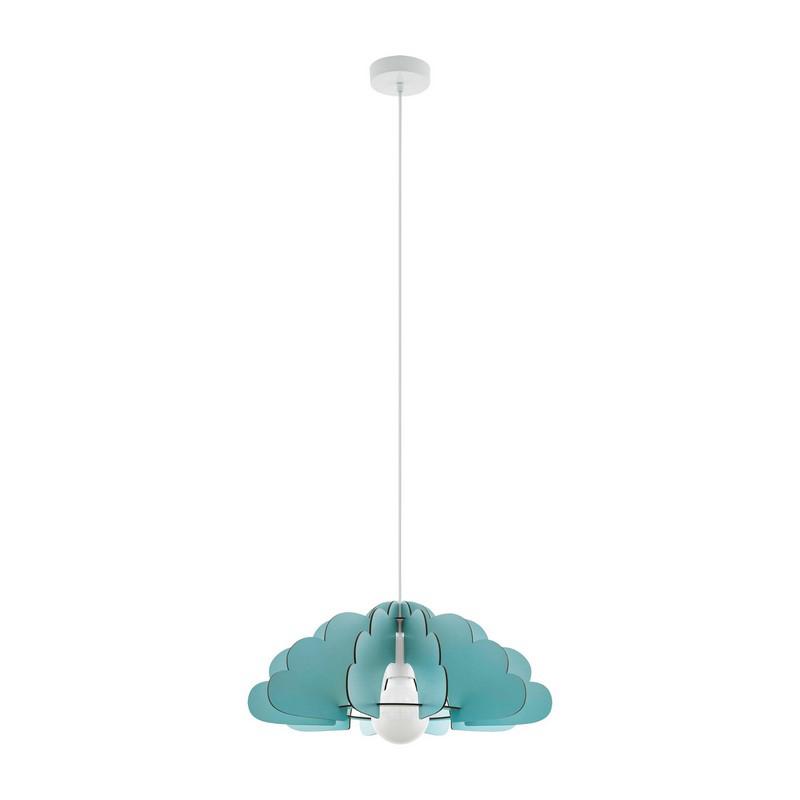 Stalen hanglamp Pia groen