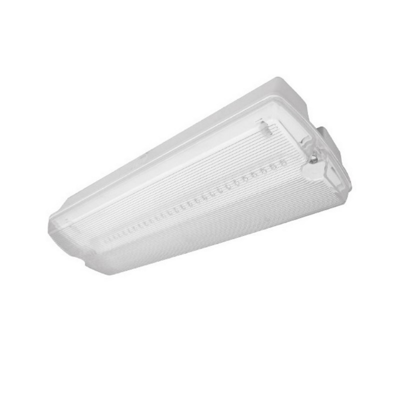 LED noodverlichting Oberg, Wand en plafond opbouw
