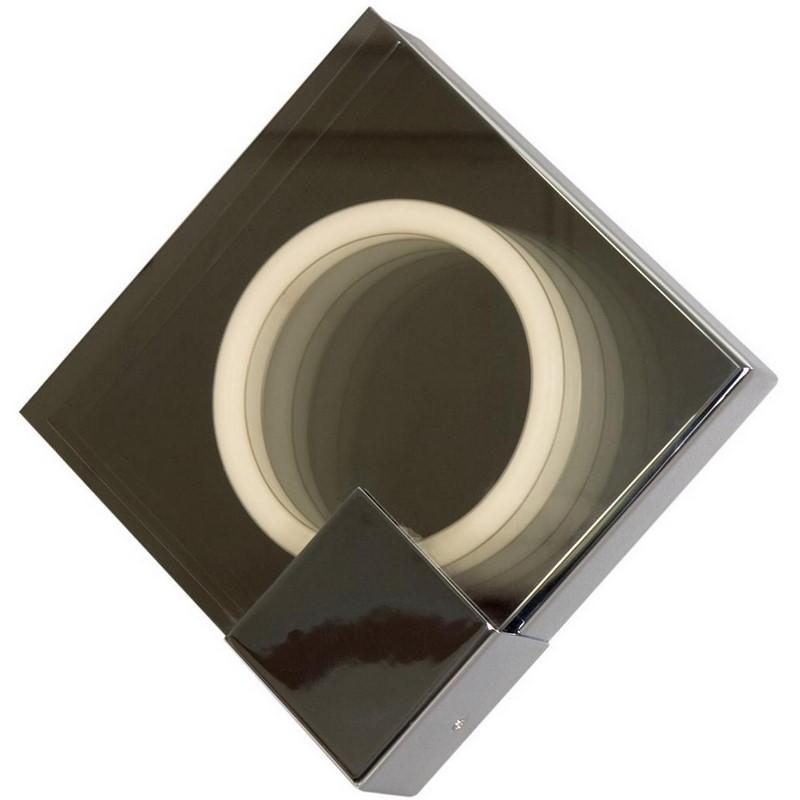 Vierkante Lore wandlamp, glas