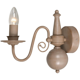 Quincy wandlamp klassiek, taupe