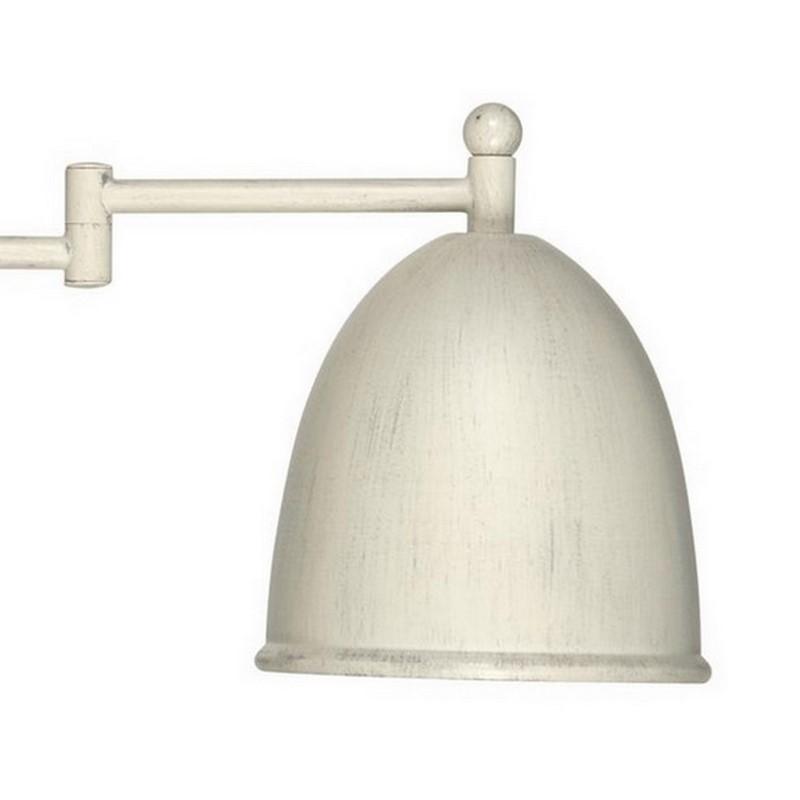 Giano II wandlamp landelijk, grijs/beige