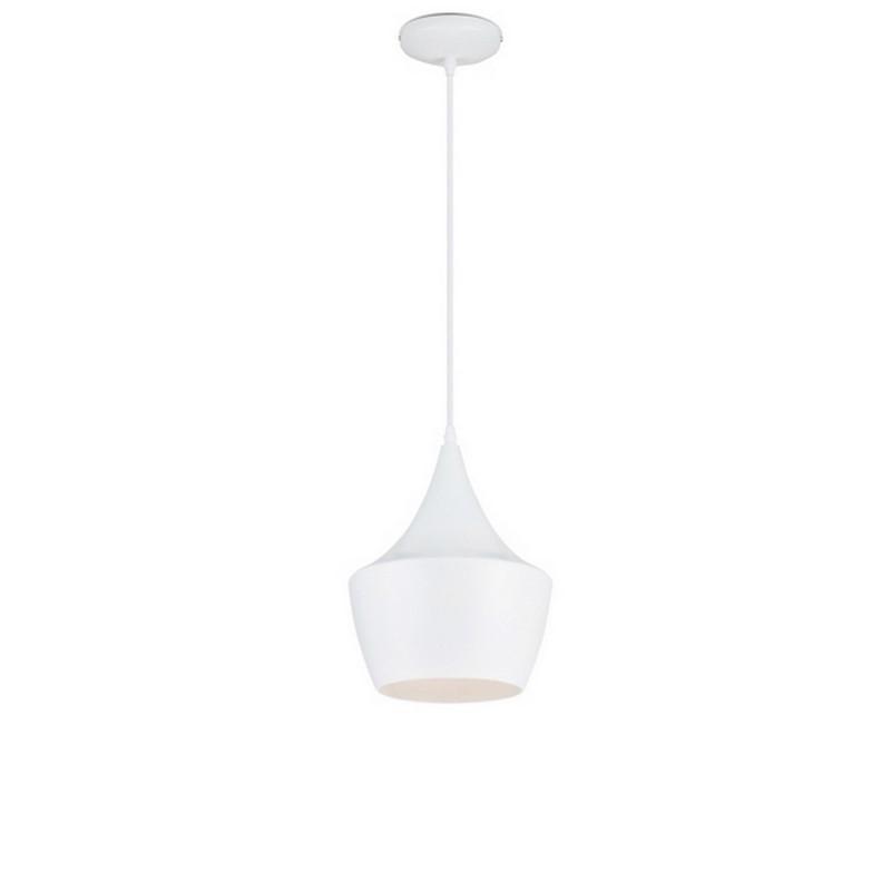 Salina hanglamp wit, design kapje