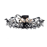 Sidney II design plafondlamp, zwart