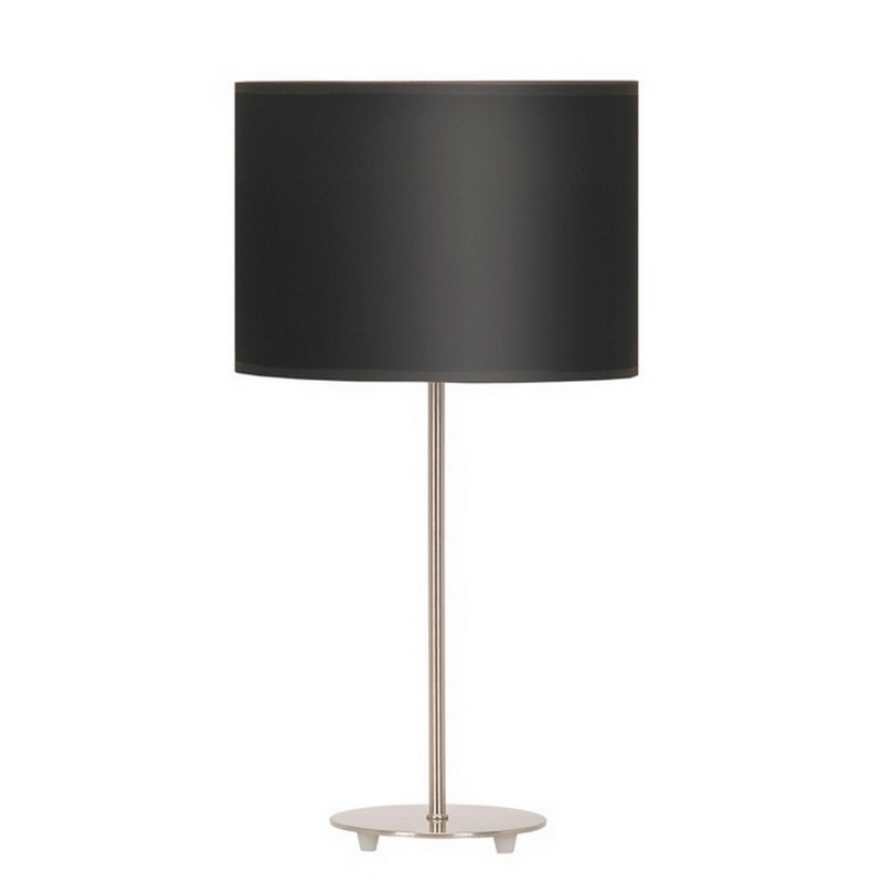 Moderne tafellamp Sefanja, zwart effen