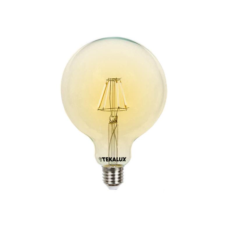 George E27 Grote bollamp, G95, 5w extra sfeervol wit, dimbaar