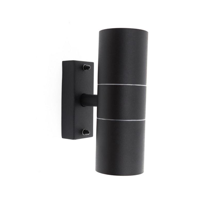 Up-down lighter Abram - Mat zwart