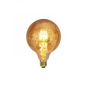Gouden E27 LED lamp Lou, 3,5 Watt, 1900K (Extra sfeervol wit)