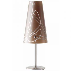 Bruine Tafellamp Nayra, Metaal