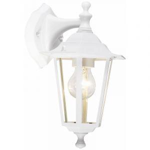 Alyssia buitenlamp, gegoten aluminium, wit