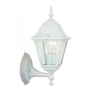 Witte buiten wandlamp Abigél