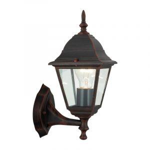 Roestbruine buiten wandlamp Adele