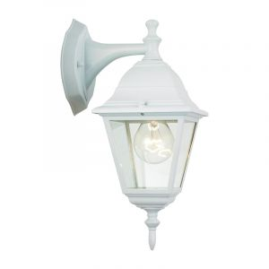 Witte buiten wandlamp Adeline