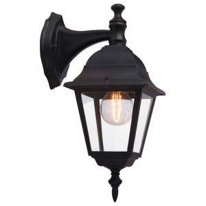 Zwarte buiten wandlamp Adelyn