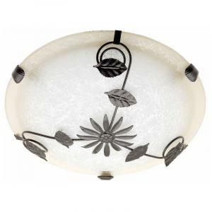 Witte, Bruine wandlamp|plafondlamp Evine
