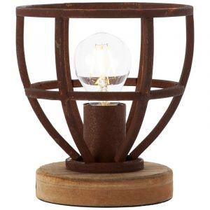 Moderne tafellamp Laura, Roest