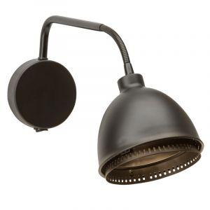 Zwarte Matt wandlamp|plafondlamp Finte