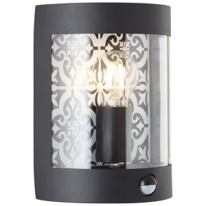 Moderne buiten wandlamp met bewegingssensor Stella, Metaal
