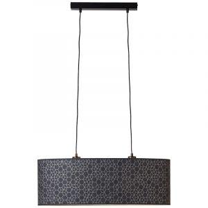 Moderne hanglamp Bojana, Metaal