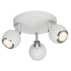 Plafondlamp Jahmyra - Wit, Chroom