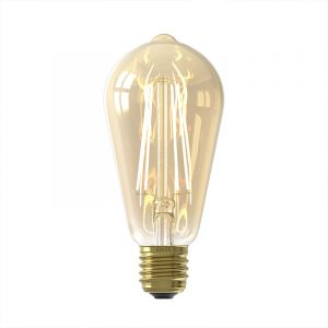 Dimbare Calex E27 LED Edison lamp, 6w, 2200K